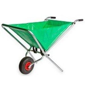 inklapbare kruiwagen groen