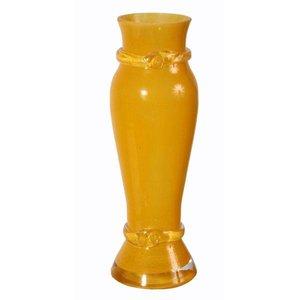 vaas oranje in vorm ca. 20cm