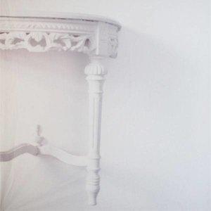 doek wit tafel ca 225 x 225cm