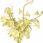 Kunststof bloem crème tinten