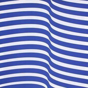doek blauw streep golf ca. 225 x 225cm