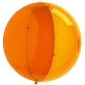 koziol orion halve bol oranje transparant