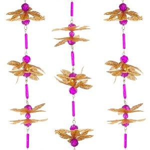 slinger goud roze 190cm