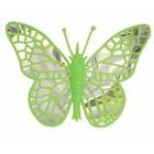 Vlinder groen ca 40 x 40cm