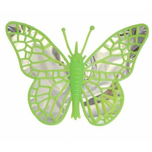 Vlinder groen XL ca 40 x 40cm
