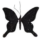 Vlinder Viktor & Rolf zwart klein per 4