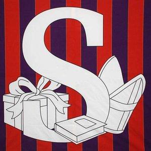 Doek S van Sinterklaas 225 x 225cm