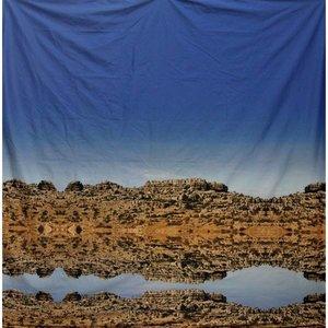 doek rots spiegeling ca. 350 x 250cm