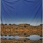 doek rots spiegeling ca. 220 x 220cm