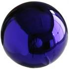 Heksenbol 15cm blauw
