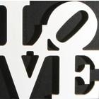 love ca. 40 x 40cm wit