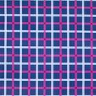 doek blauw roze/witte strepen 225 x 225cm