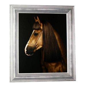 Afbeelding paard dubbelzijdig 60 x 70cm