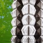 doek Vive la Mode groen ca. 350 x 250cm