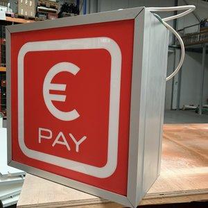 Lichtbak Euro pay