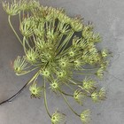 Kunststof bloem 43cm rond