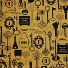 Doek MD geel ca 225 x 225cm