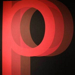 Doek letter P ca 350 x 250cm