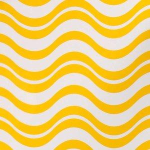Doek golf geel ca 225 x 225cm