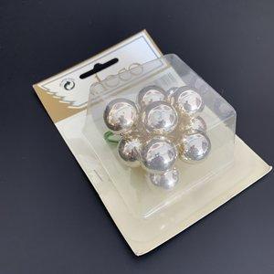 Kerstballetjes 2cm ca 10 stuks