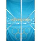 Doek winning looks lichtblauw ca 157 x 225cm