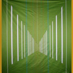 Doek sport ca 350 x 250cm groen