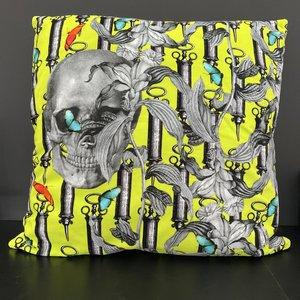 Kussenhoes Skulls vierkant 60 x 60cm
