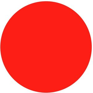 Strandbal rood ca. Ø 80cm