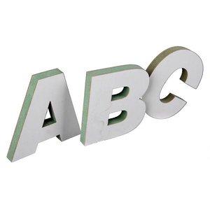 letters 25cm hoog