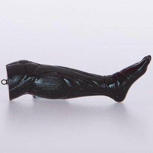 Been gespierd zwart