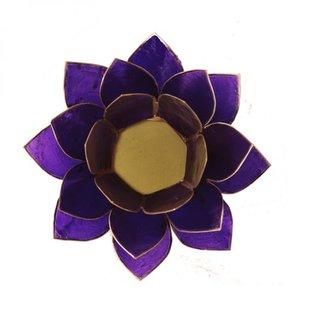Lotus Sfeerlicht – met goudkleurige randen