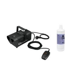 EUROLITE EUROLITE Set N-10 black + A2D Action smoke fluid 1l