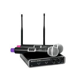 OMNITRONIC OMNITRONIC UHF-102 Wireless Mic System 823.5/863.1MHz