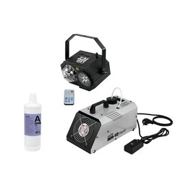 EUROLITE EUROLITE Set LED Mini FE-4 + NH-10 + Smoke Fluid -A2D- 1l