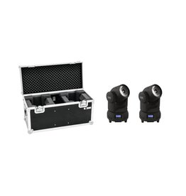 EUROLITE EUROLITE Set 2x LED TMH-X1 Moving-Head Beam + Case