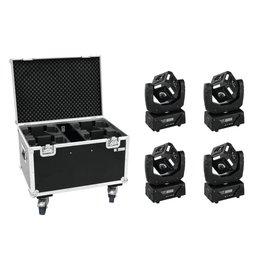 EUROLITE EUROLITE Set 4x LED MFX-3 Action Cube + Case