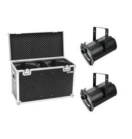EUROLITE EUROLITE Set 2x LED THA-100F MK2 Theater-Spot + Case