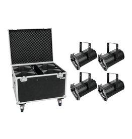 EUROLITE EUROLITE Set 4x LED THA-100F MK2 Theater-Spot + Case