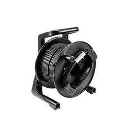 PSSO PSSO DMX cable drum XLR 30m bk Neutrik 2x0.22