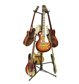 DIMAVERY DIMAVERY Guitar tree 6-fold bk