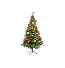 EUROPALMS EUROPALMS Premium pine tree, decorated , 180cm