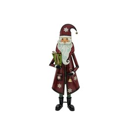 EUROPALMS EUROPALMS Santa Claus, Metal, 150cm, red
