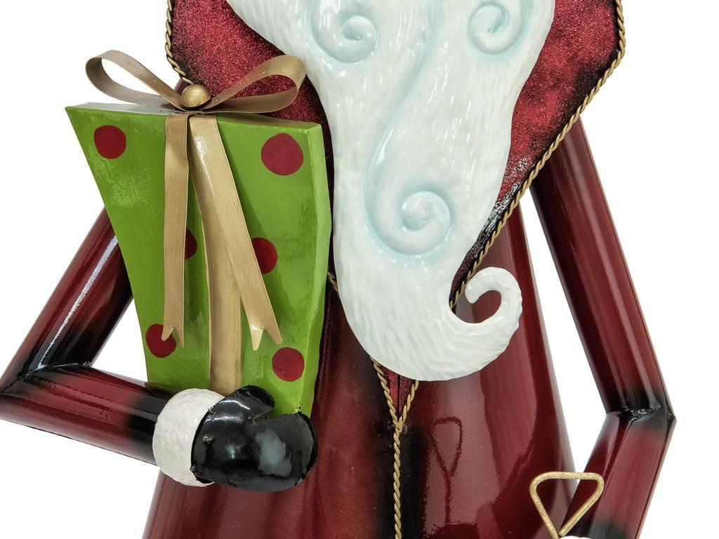 EUROPALMS EUROPALMS Santa Claus, Metal, 150cm, red
