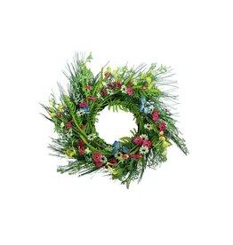 EUROPALMS EUROPALMS Wild Flower Wreath 65cm