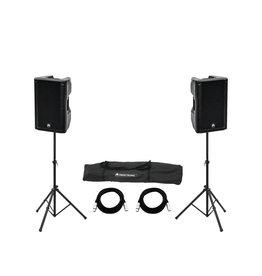 OMNITRONIC OMNITRONIC Set 2x XKB-212A + Speaker Stand MOVE MK2
