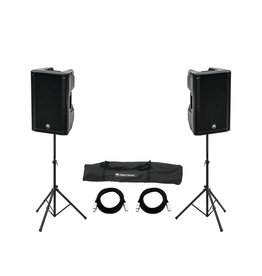 OMNITRONIC OMNITRONIC Set 2x XKB-215A + Speaker Stand MOVE MK2