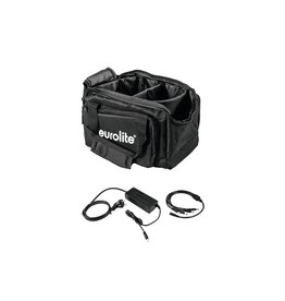 EUROLITE EUROLITE Set SB-14 Soft-Bag + Charger 4x AKKU Flat Light 1