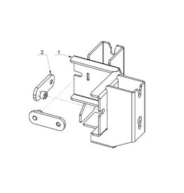 ALUTRUSS ALUTRUSS BE-1V3E connection clamp for BE-1G3