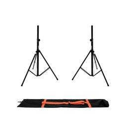 OMNITRONIC OMNITRONIC Set 2x BS-2 EU Loudspeaker Stand + Carrying bag