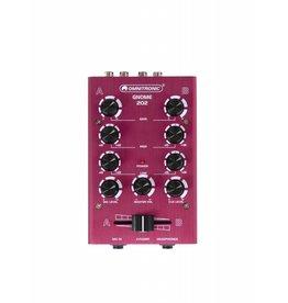 OMNITRONIC OMNITRONIC GNOME-202 Mini mixer red